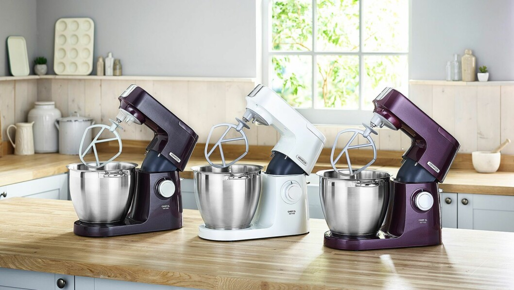 Kenwood Chef Sense XL (2018) er kåret til «Årets kjøkkenprodukt 2018/2019». Foto: Kenwood