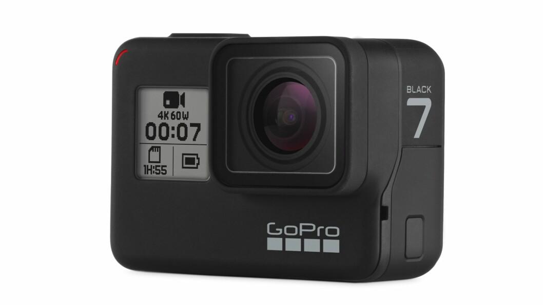 GoPro HERO7 Black er kåret til «Årets videoprodukt 2018/2019». Foto: GoPro