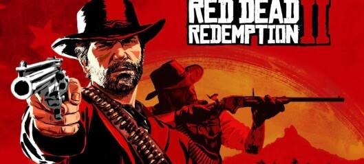 ÅRETS SPILLPRODUKT:Red Dead Redemption 2