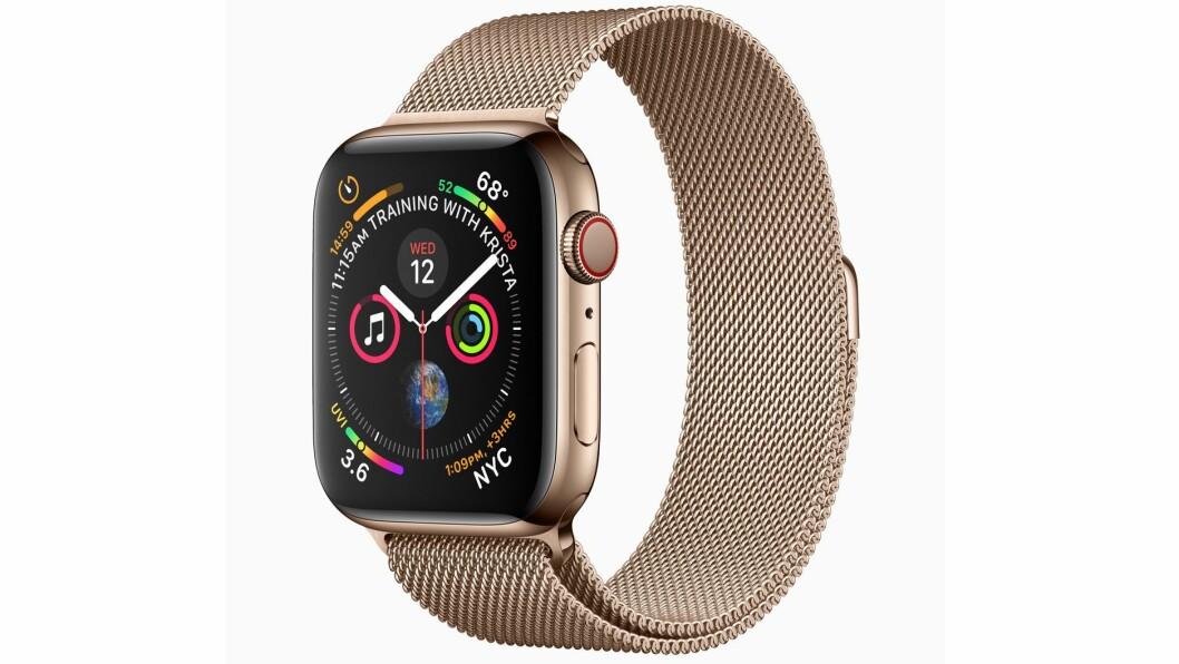 Finalist: Apple Watch series 4. Foto: Apple.