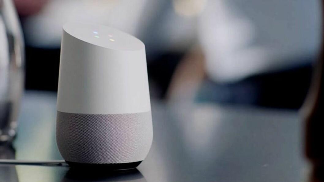 Finalist: Google Home. Foto: Google.