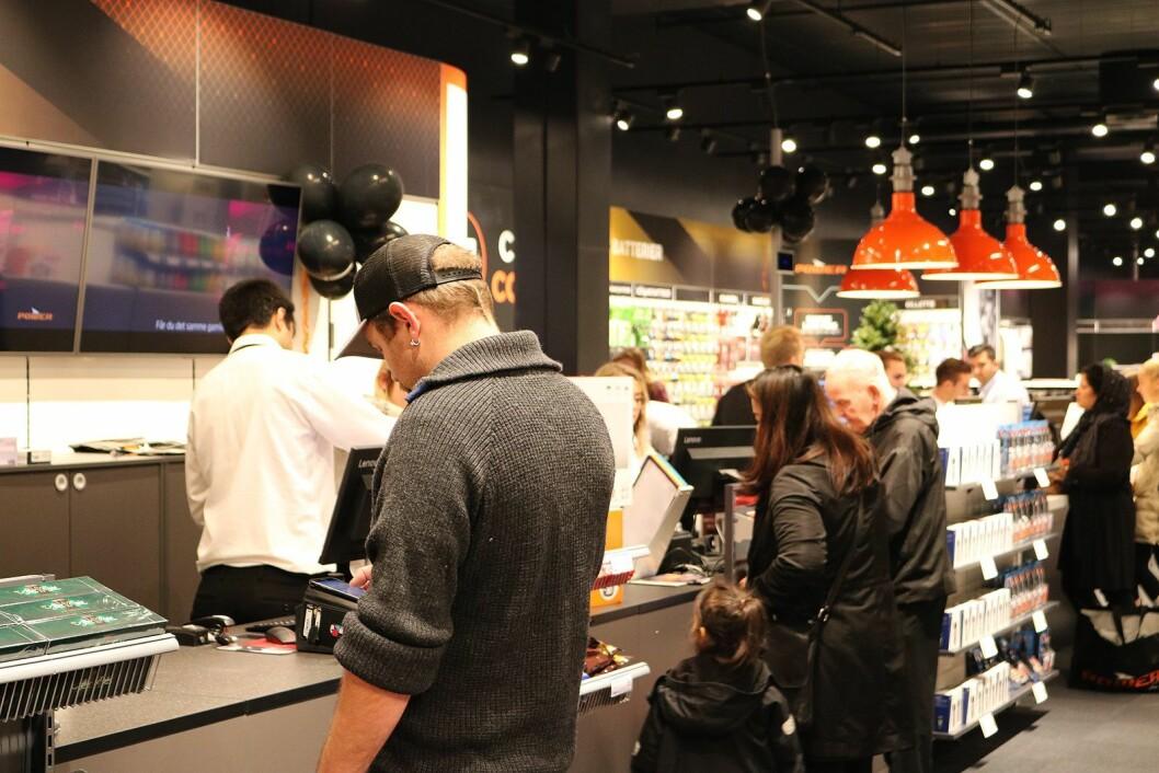Power Jærhagen åpnet ved Jærhagen kjøpesenter den 8. november. Foto: Tobias Rønningen, Power.