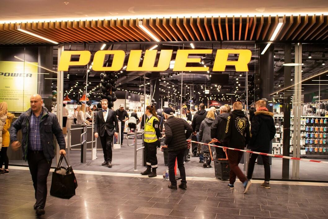 """<a href=""""https://www.elektronikkbransjen.no/artikler/pa-jaeren-er-elkjop-naermeste-nabo/450861"""">Les om Power Jærhagen</a>, som holder til i samme korridor. Foto: Tobias Rønningen, Power"""