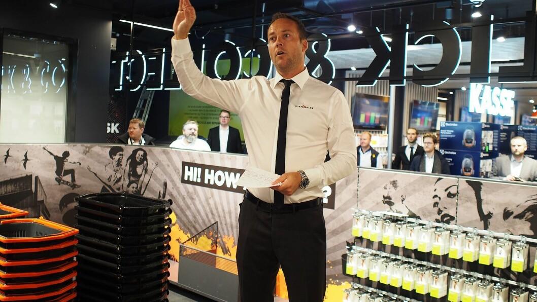 Power Norge-sjef Anders Nilsen doblet omsetningen under Black Friday-uken. Foto: Power.