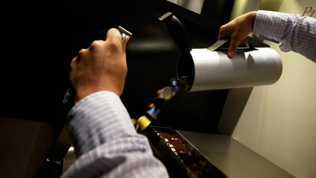 Med et nytt samarbeid skal Nespresso bli mer bærekraftig. Foto: Nespresso
