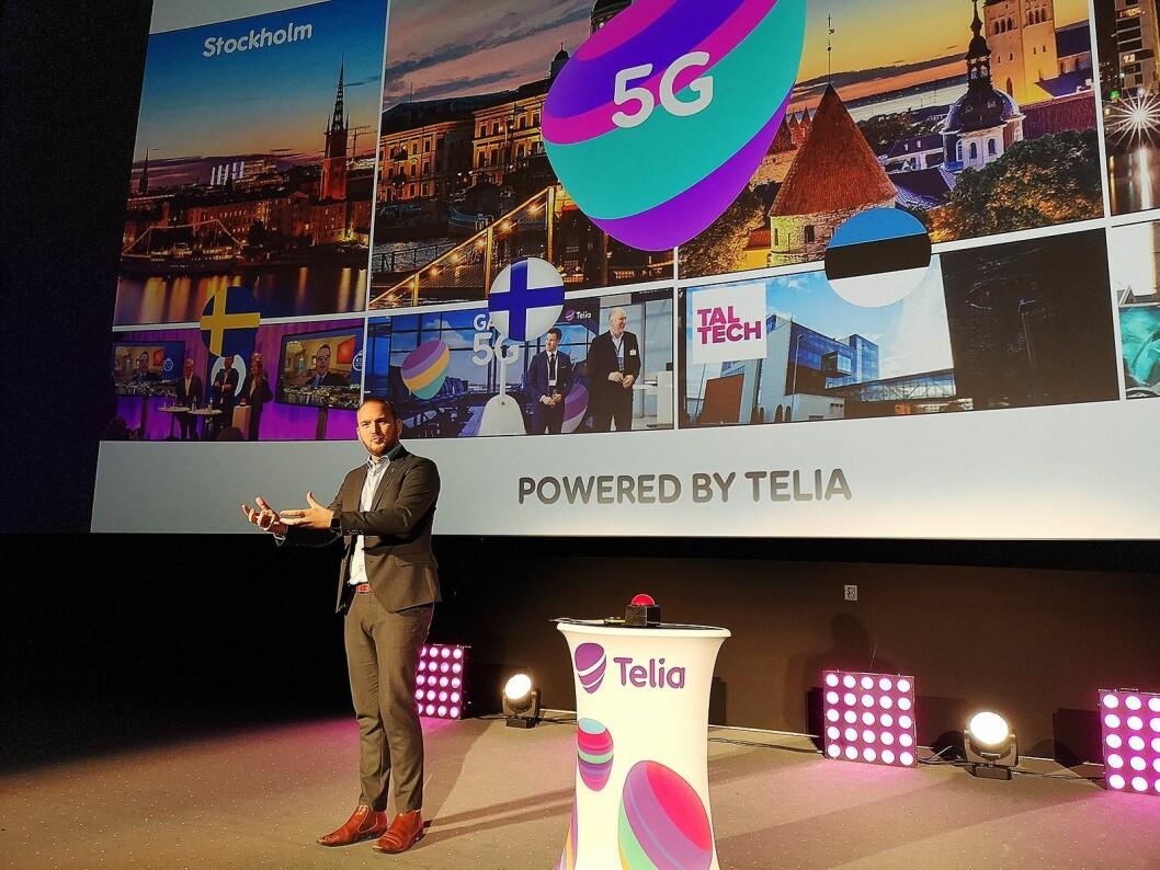 Samferdselsminister Jon Georg Dalen understreker at 5G er en viktig satsning for regjeringen. Foto: Marte Ottemo