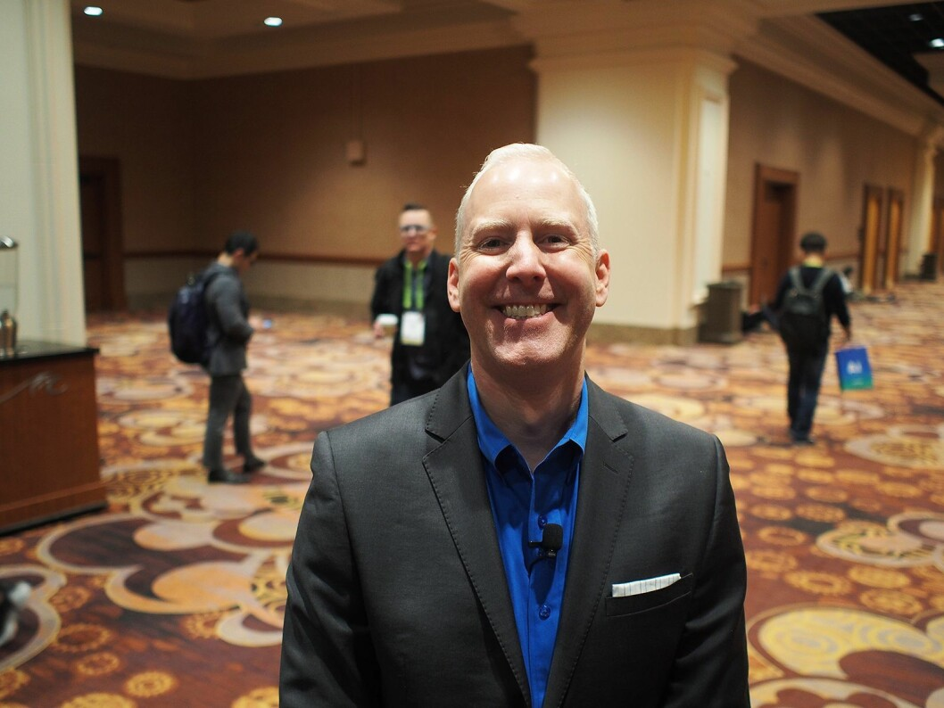 Steve Koenig er analysesjef i CTA, som er den amerikanske søsterorganisasjonen til Stiftelsen Elektronikkbransjen. Foto: Jan Røsholm.