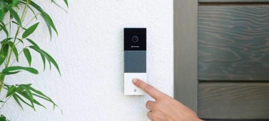 Netatmo Smart Videoringeklokke