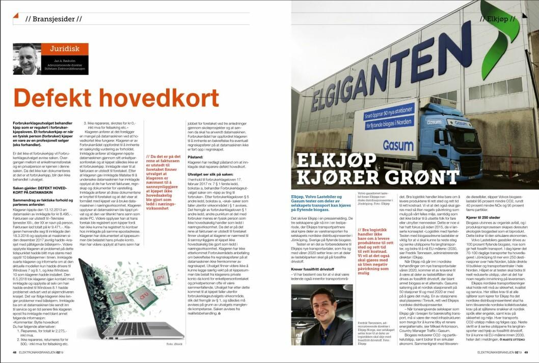 """Artikkelen ble første gang publisert i papirutgaven av fagbladet Elektronikkbransjen nr. 2/2019, som ble distribuert 10. april. <a href=""""http://www.mypaper.se/html5/customer/248/12428/?page=48"""" target=""""_blank"""" rel=""""noopener"""">Her kan du lese artikkelen</a> og bla gjennom digitalutgaven av bladet. Du kan lese alle utgaver av bladet digitalt, fra og med nr. 1/1937, på <a href=""""https://www.elektronikkbransjen.no/historiskarkiv"""" target=""""_blank"""" rel=""""noopener"""">elektronikkbransjen.no/historiskarkiv</a>."""