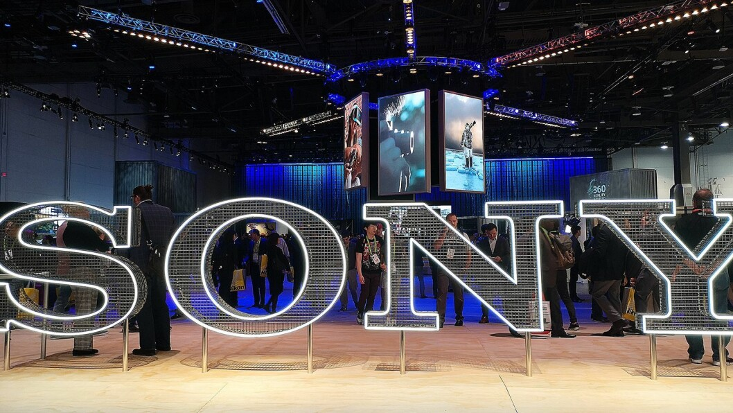 Sony kjørte egne opplevelsessoner på sin stand under årets CES-messe. Foto: Marte Ottemo