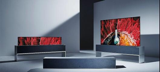 LG MED RULLBAR TV OG 8K