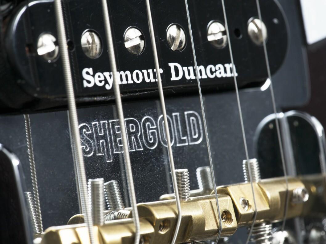 Shergold har USA-produserte Seymour Duncan-mikrofoner. Foto: Barnes & Mullins.