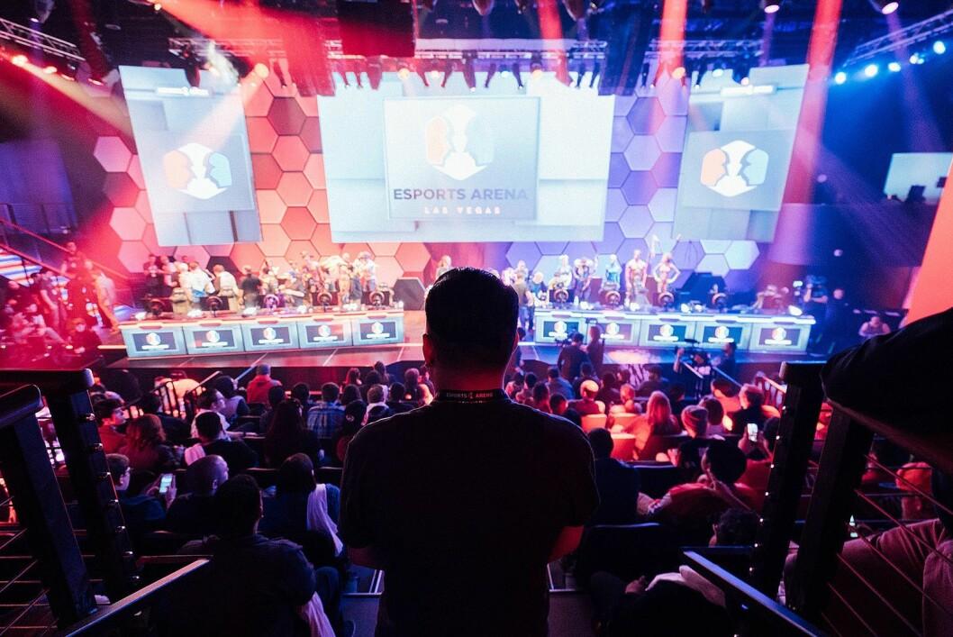 HyperX sponser Las Vegas Esports Arena som ligger på Luxor Hotel. Foto: Las Vegas Esports Arena.