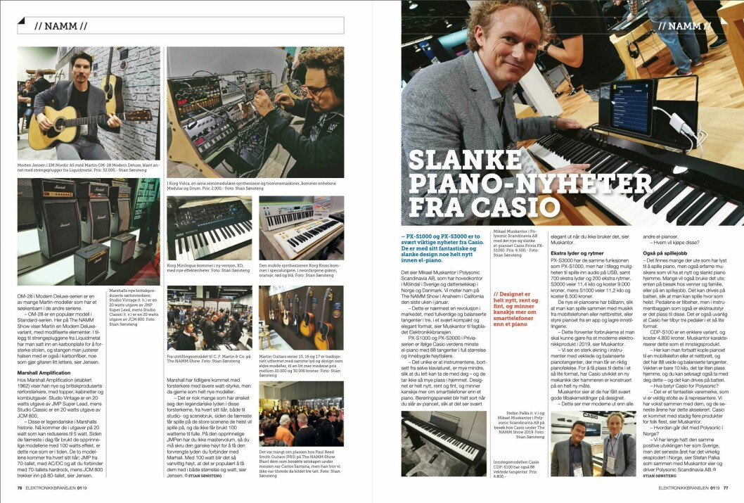 """Artikkelen ble første gang publisert i papirutgaven av fagbladet Elektronikkbransjen nr. 1/2019, som ble distribuert 13. februar. <a href=""""http://www.mypaper.se/html5/customer/248/12363/?page=76"""" target=""""_blank"""" rel=""""noopener"""">Her kan du lese artikkelen</a> og bla gjennom digitalutgaven av bladet."""