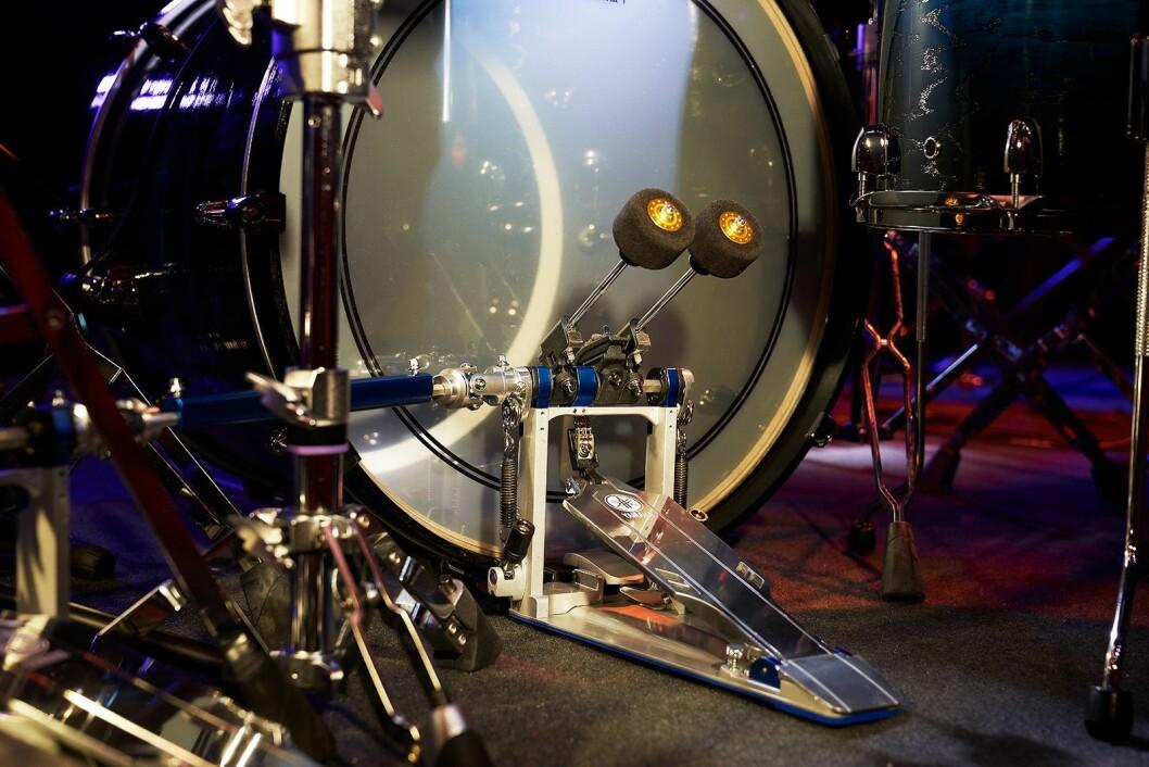 Yamaha ønsker å knytte til seg unge og kommende trommeslagere, som ambassadører. Her dobbeltpedalen i FP9-serien. Foto: Yamaha.