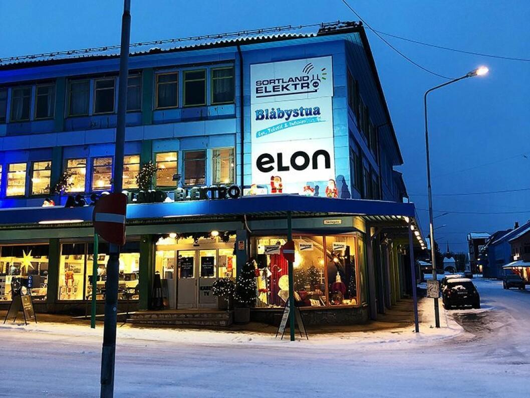 Sortland Elektro AS markedsfører nå butikken sin under Elon-navnet. Foto: Elon.