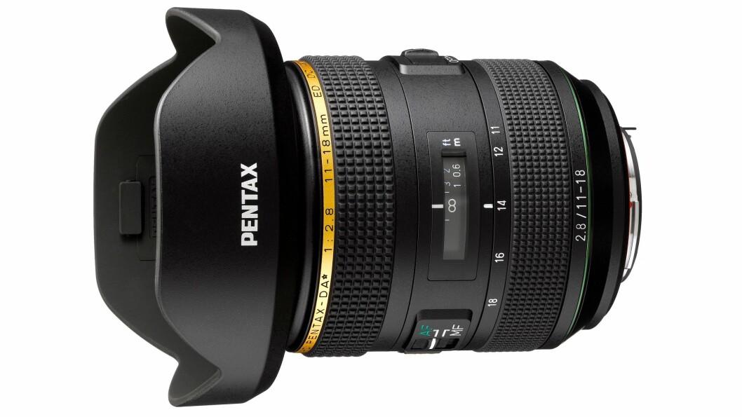 HD Pentax DA 11-18mm f/2.8 ED DC AW