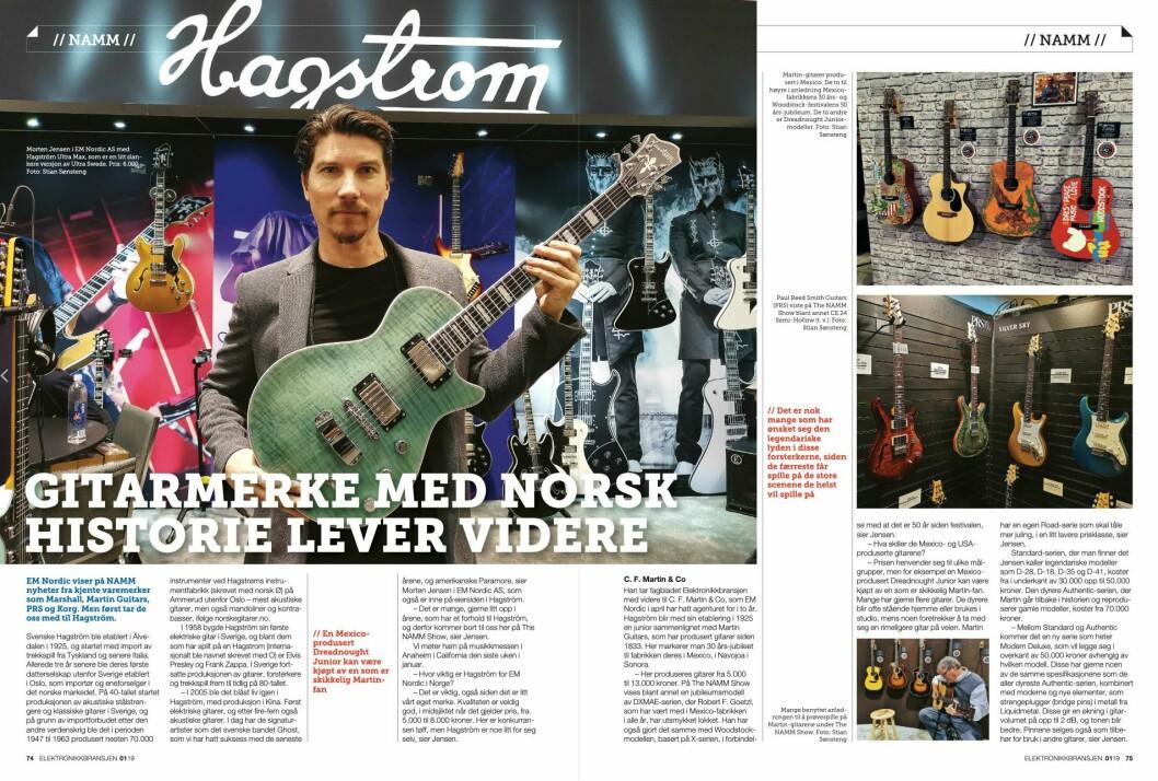 """Artikkelen ble første gang publisert i papirutgaven av fagbladet Elektronikkbransjen nr. 1/2019, som ble distribuert 13. februar. <a href=""""http://www.mypaper.se/html5/customer/248/12363/?page=74"""" target=""""_blank"""" rel=""""noopener"""">Her kan du lese artikkelen</a> og bla gjennom digitalutgaven av bladet."""