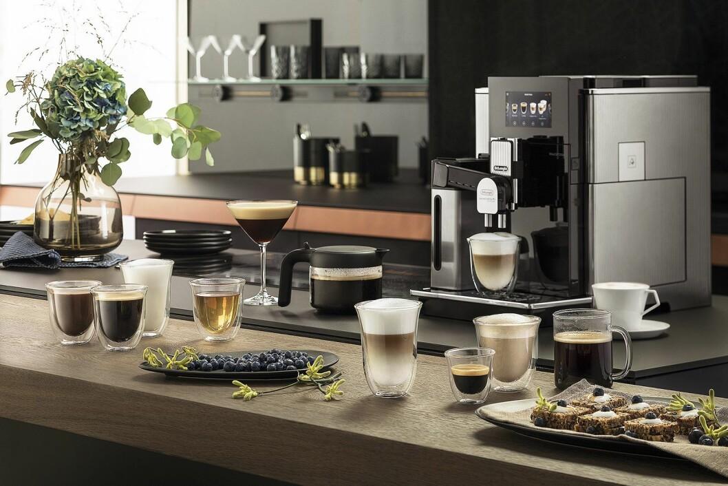 De helautomatiske kaffemaskinene tar en større del av markedet i 2018. Foto: De'Longhi.