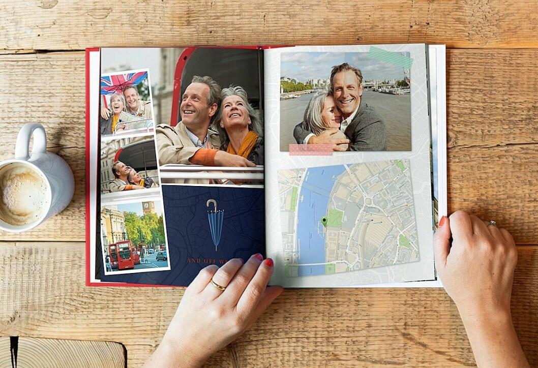 Nordmenn lagde og kjøpte 243.000 fotobøker i 2018, en vekst på seks prosent. Foto: FotoKnudsen.