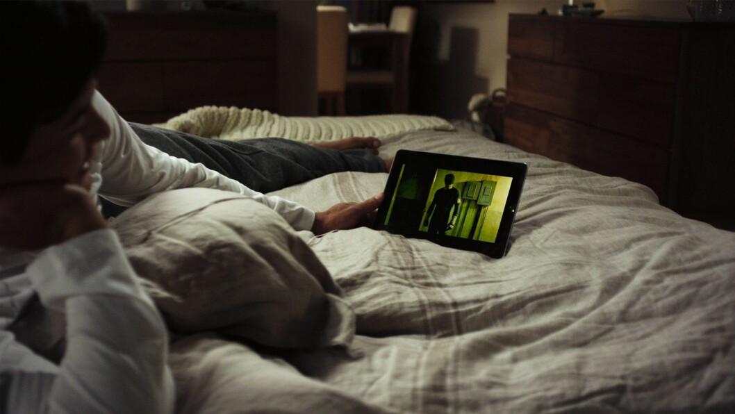 Netflix er størst blant strømmeplattformene, og stadig flere nordmenn konsumerer innholdet sitt andre steder enn TV-skjermen. Foto: Netflix.
