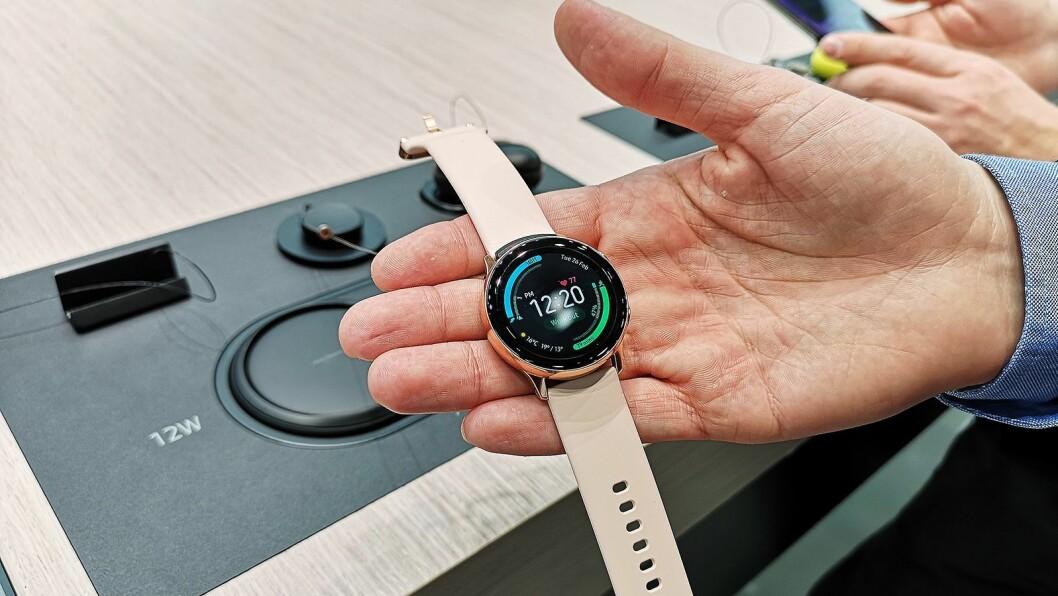 Samsung Galaxy Watch Active. Foto: Marte Ottemo.