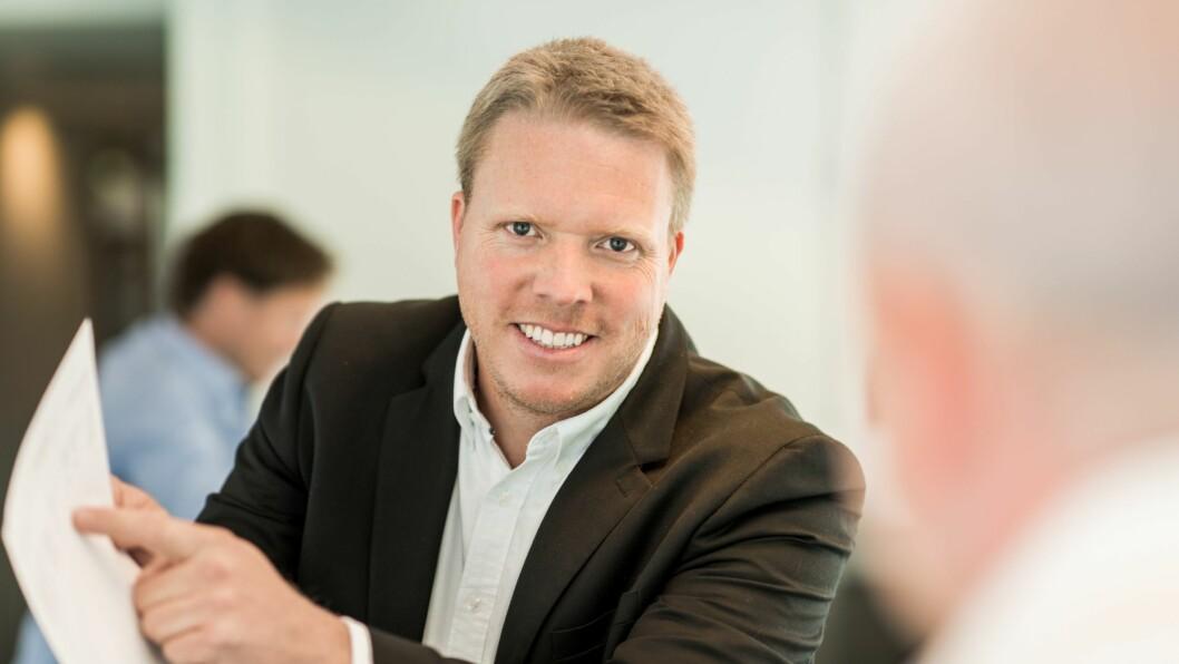 Konsernsjef Eivind Helgaker i Ice Group ASA. Foto: Ice