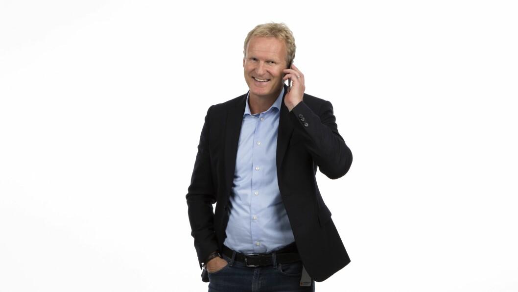 Administrerende direktør Haakon Dyrnes i Komplett Mobil. Foto: Komplett Mobil.