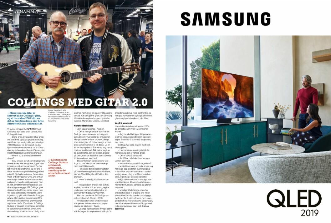 """Artikkelen ble første gang publisert i papirutgaven av fagbladet Elektronikkbransjen nr. 2/2019, som ble distribuert 10. april. <a href=""""http://www.mypaper.se/html5/customer/248/12428/?page=66"""" target=""""_blank"""" rel=""""noopener"""">Her kan du lese artikkelen</a> og bla gjennom digitalutgaven av bladet. Du kan lese alle utgaver av bladet digitalt, fra og med nr. 1/1937, på <a href=""""https://www.elektronikkbransjen.no/historiskarkiv"""" target=""""_blank"""" rel=""""noopener"""">elektronikkbransjen.no/historiskarkiv</a>."""