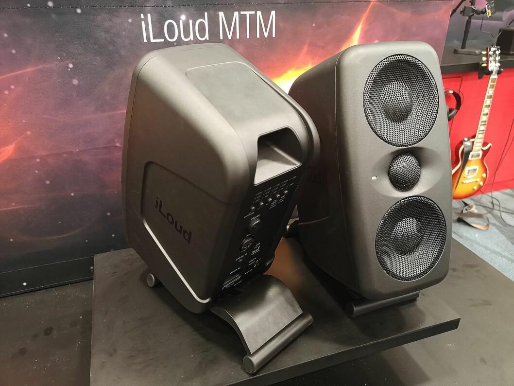 De aktive studiomonitorene iLoud MTM er hver på 100 watt, og koster 4.500 kroner per stykk. Foto: Stian Sønsteng.