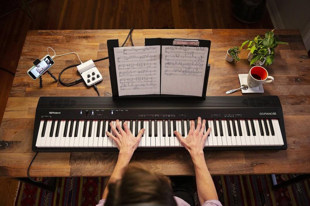 Roland Go:Piano 88. Pris: 4.200,- Foto: Roland.