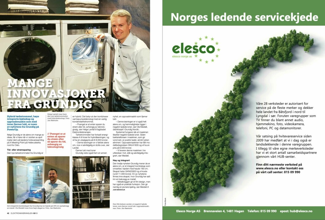 """Artikkelen ble første gang publisert i papirutgaven av fagbladet Elektronikkbransjen nr. 3/2019, som ble distribuert 13. juni. <a href=""""http://www.mypaper.se/html5/customer/248/12536/?page=42"""" target=""""_blank"""" rel=""""noopener"""">Her kan du lese artikkelen</a> og bla gjennom digitalutgaven av bladet. Du kan lese alle utgaver av bladet digitalt, fra og med nr. 1/1937, på <a href=""""https://www.elektronikkbransjen.no/historiskarkiv"""" target=""""_blank"""" rel=""""noopener"""">elektronikkbransjen.no/historiskarkiv</a>."""