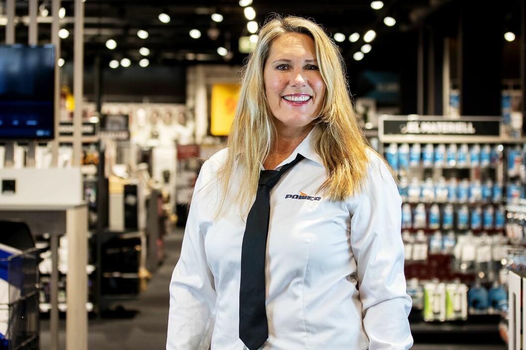 Elizabeth Gill, markedssjef i Power. Foto: Power.