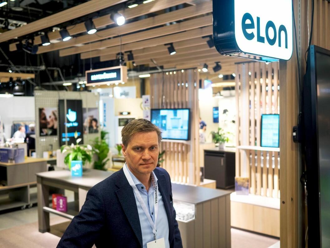 Asle Bjerkebakke, administrerende direktør i Elon. Foto: Ola Larsson.