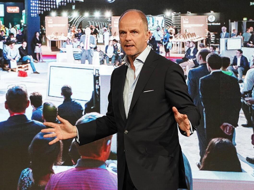 Administrerende direktør Christian Göke i Messe Berlin. Foto: IFA.