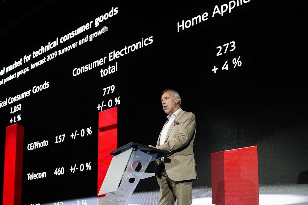 Styreleder Hans-Joachim Kamp i gfu Consumer & Home Electronics GmbH