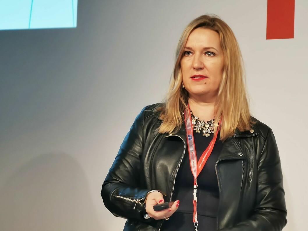 Direktør Maria Rua Aguete i trendanalyse-selskapet IHS Markit. Foto: Stian Sønsteng