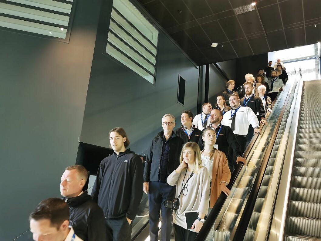PowerUp for hvitevarer ble arrangert på X Meeting Point på Hellerudsletta nord for Oslo, i tilknytning til hotellet Moxy Oslo X. Foto: Stian Sønsteng