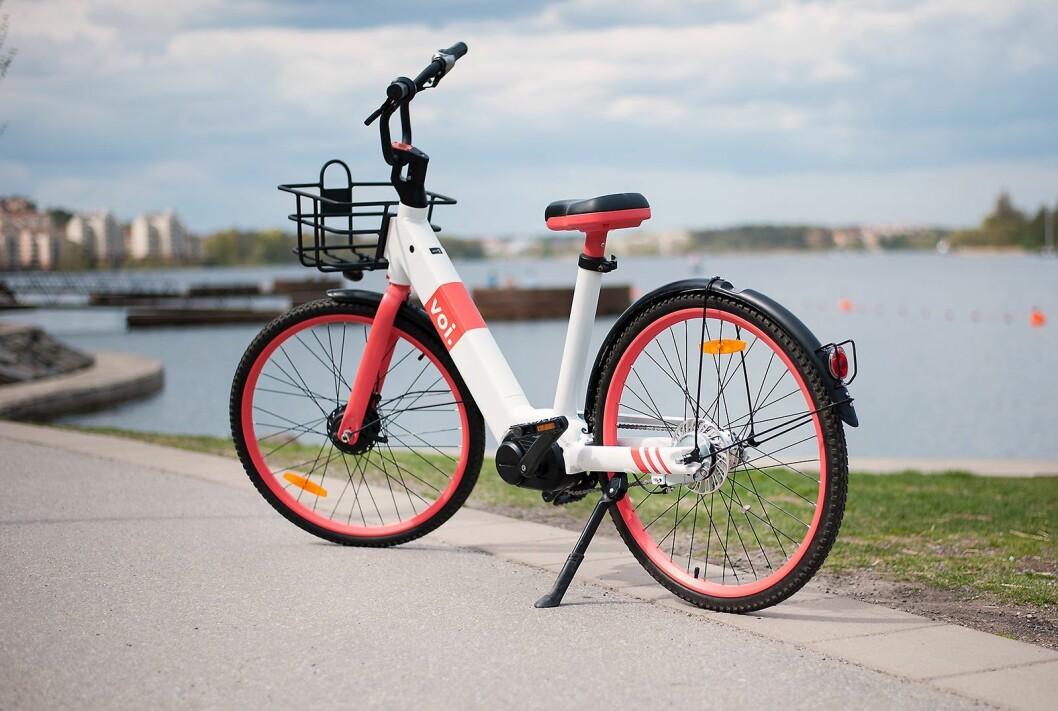 Voi går nå også inn på elsykkelmarkedet innen utleie, og lanserer Voi Bike. Foto: Voi.