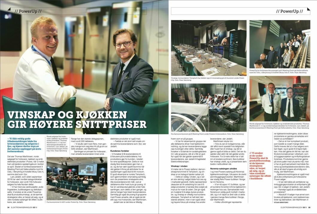 """Artikkelen ble første gang publisert i papirutgaven av fagbladet Elektronikkbransjen nr. 3/2019, som ble distribuert 13. juni. <a href=""""http://www.mypaper.se/html5/customer/248/12536/?page=34"""" target=""""_blank"""" rel=""""noopener"""">Her kan du lese artikkelen</a> og bla gjennom digitalutgaven av bladet. Du kan lese alle utgaver av bladet digitalt, fra og med nr. 1/1937, på <a href=""""https://www.elektronikkbransjen.no/historiskarkiv"""" target=""""_blank"""" rel=""""noopener"""">elektronikkbransjen.no/historiskarkiv</a>."""