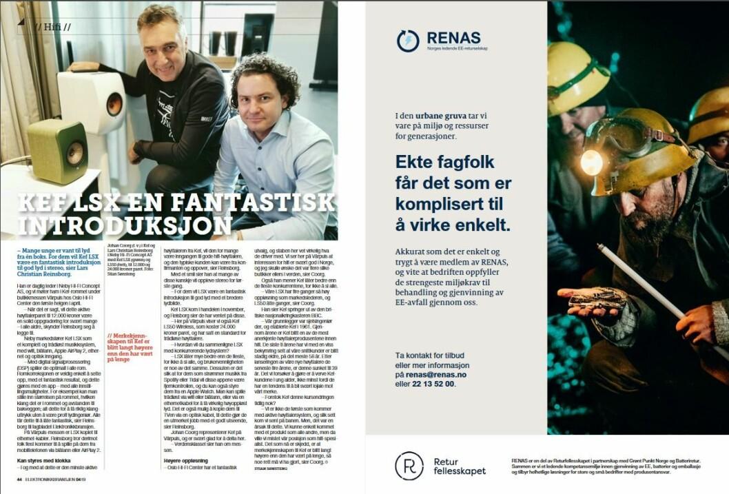 """Artikkelen ble første gang publisert i papirutgaven av fagbladet Elektronikkbransjen nr. 4/2019, som ble distribuert 28. august. <a href=""""http://www.mypaper.se/html5/customer/248/12568/?page=44"""" target=""""_blank"""" rel=""""noopener"""">Her kan du lese artikkelen</a> og bla gjennom digitalutgaven av bladet. Du kan lese alle utgaver av bladet digitalt, fra og med nr. 1/1937, på <a href=""""https://www.elektronikkbransjen.no/historiskarkiv"""" target=""""_blank"""" rel=""""noopener"""">elektronikkbransjen.no/historiskarkiv</a>."""