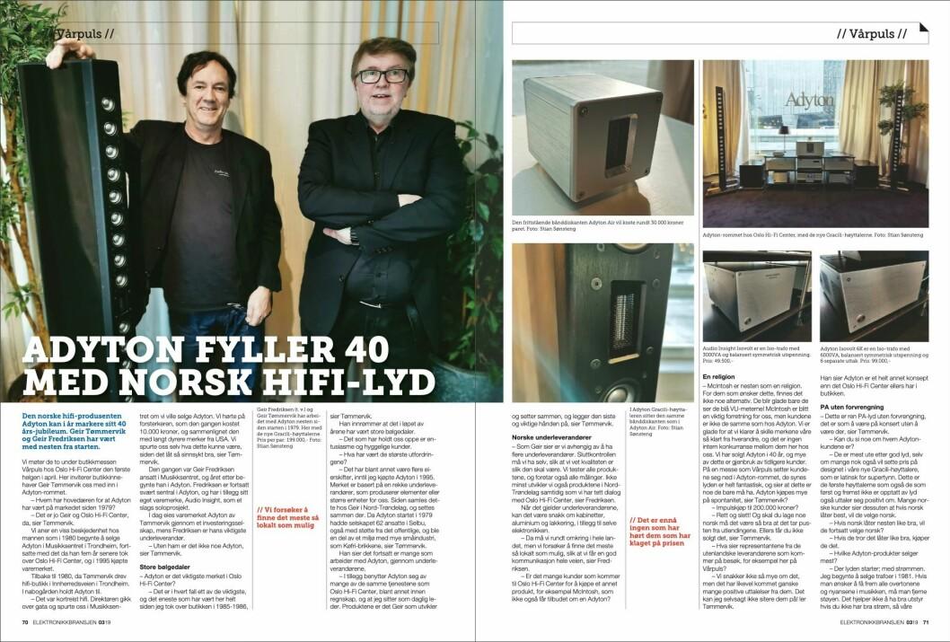 """Artikkelen ble første gang publisert i papirutgaven av fagbladet Elektronikkbransjen nr. 3/2019, som ble distribuert 13. juni. <a href=""""http://www.mypaper.se/html5/customer/248/12536/?page=70"""" target=""""_blank"""" rel=""""noopener"""">Her kan du lese artikkelen</a> og bla gjennom digitalutgaven av bladet. Du kan lese alle utgaver av bladet digitalt, fra og med nr. 1/1937, på <a href=""""https://www.elektronikkbransjen.no/historiskarkiv"""" target=""""_blank"""" rel=""""noopener"""">elektronikkbransjen.no/historiskarkiv</a>."""
