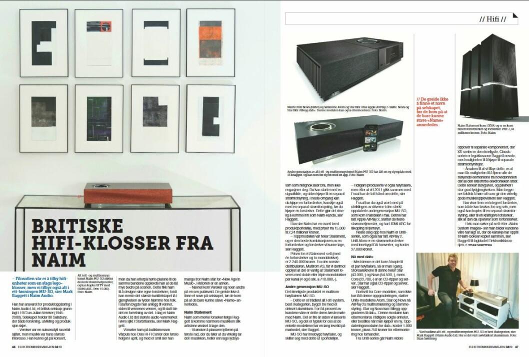 """Artikkelen ble første gang publisert i papirutgaven av fagbladet Elektronikkbransjen nr. 4/2019, som ble distribuert 28. august. <a href=""""http://www.mypaper.se/html5/customer/248/12568/?page=46"""">Her kan du lese artikkelen</a> og bla gjennom digitalutgaven av bladet. Du kan lese alle utgaver av bladet digitalt, fra og med nr. 1/1937, på <a href=""""https://www.elektronikkbransjen.no/historiskarkiv"""" target=""""_blank"""" rel=""""noopener"""">elektronikkbransjen.no/historiskarkiv</a>."""