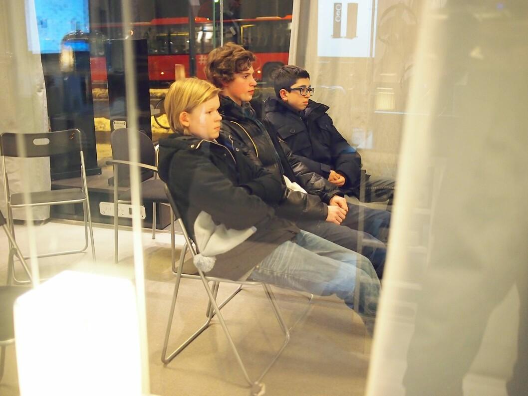 2012: Da vi møtte Richard Wærner (f. v.), Mathias Beck og Jonas Skavang under en lyttekveld ved Oslo Hi-Fi Center, ble de omtalt som pilotkunder. Foto: Stian Sønsteng.