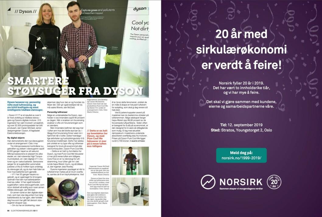 """Artikkelen ble første gang publisert i papirutgaven av fagbladet Elektronikkbransjen nr. 3/2019, som ble distribuert 13. juni. <a href=""""http://www.mypaper.se/html5/customer/248/12536/?page=68"""" target=""""_blank"""" rel=""""noopener"""">Her kan du lese artikkelen</a> og bla gjennom digitalutgaven av bladet. Du kan lese alle utgaver av bladet digitalt, fra og med nr. 1/1937, på <a href=""""https://www.elektronikkbransjen.no/historiskarkiv"""" target=""""_blank"""" rel=""""noopener"""">elektronikkbransjen.no/historiskarkiv</a>."""