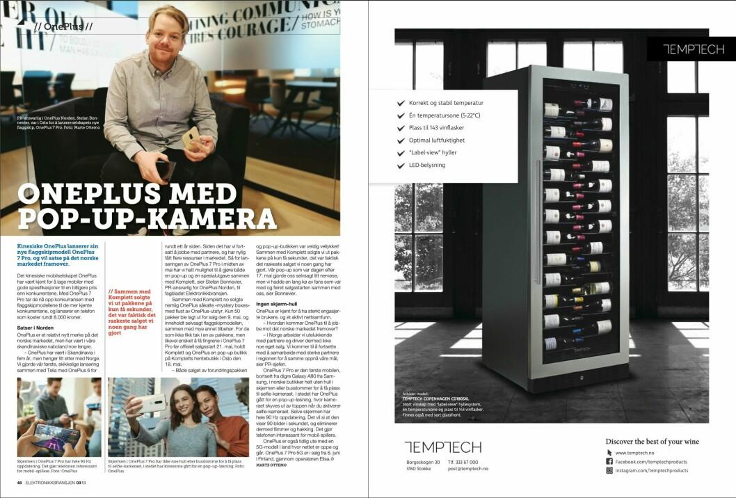 """Artikkelen ble første gang publisert i papirutgaven av fagbladet Elektronikkbransjen nr. 3/2019, som ble distribuert 13. juni. <a href=""""http://www.mypaper.se/html5/customer/248/12536/?page=48"""" target=""""_blank"""" rel=""""noopener"""">Her kan du lese artikkelen</a> og bla gjennom digitalutgaven av bladet. Du kan lese alle utgaver av bladet digitalt, fra og med nr. 1/1937, på <a href=""""https://www.elektronikkbransjen.no/historiskarkiv"""" target=""""_blank"""" rel=""""noopener"""">elektronikkbransjen.no/historiskarkiv</a>."""