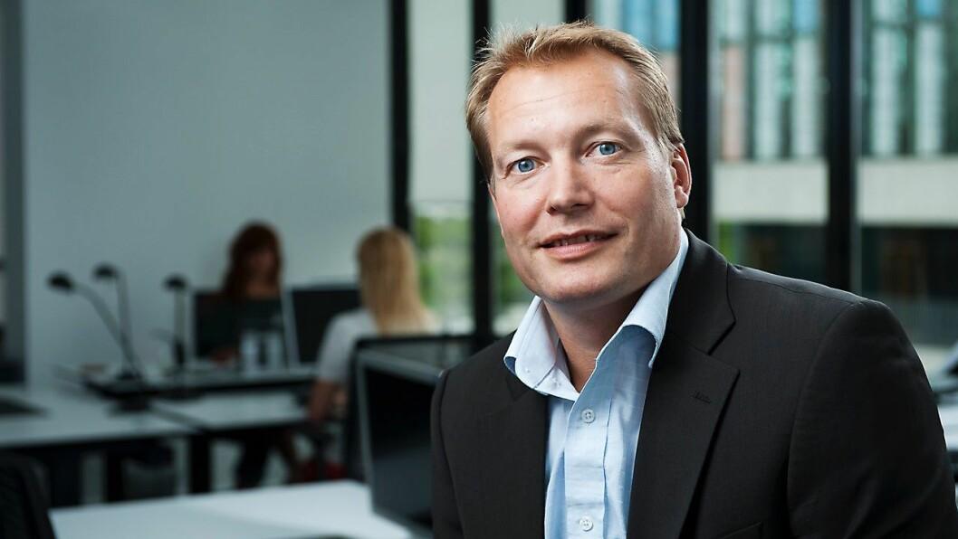 Ole Mygind er visepresident for salg i Norden og Benelux hos Poly, tidligere kjent som Plantronics og Polycom. Foto: Poly