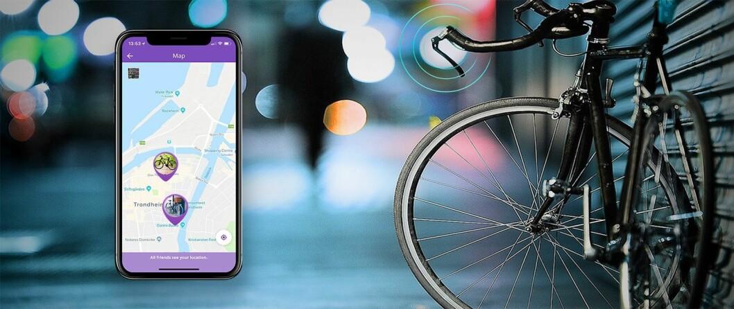 Tail it Bike plasseres inne i styret, slik at sporingsenheten ikke synes. Måler 185×17,8mm og veier 64g. Pris: 800,-.
