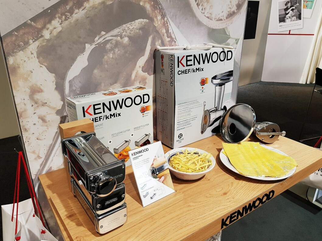Utstyr til å lage hjemmelaget pasta er tilgjengelig. Foto: Jan Røsholm.