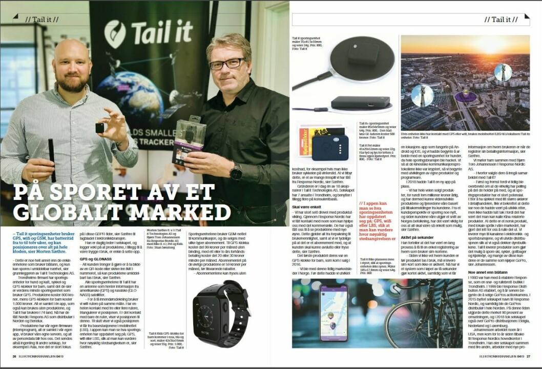 """Artikkelen ble første gang publisert i papirutgaven av fagbladet Elektronikkbransjen nr. 4/2019, som ble distribuert 28. august. <a href=""""http://www.mypaper.se/html5/customer/248/12568/?page=26"""" target=""""_blank"""" rel=""""noopener"""">Her kan du lese artikkelen</a> og bla gjennom digitalutgaven av bladet. Du kan lese alle utgaver av bladet digitalt, fra og med nr. 1/1937, på <a href=""""https://www.elektronikkbransjen.no/historiskarkiv"""" target=""""_blank"""" rel=""""noopener"""">elektronikkbransjen.no/historiskarkiv</a>."""